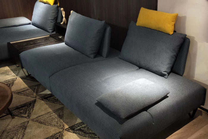 modern fabric couch