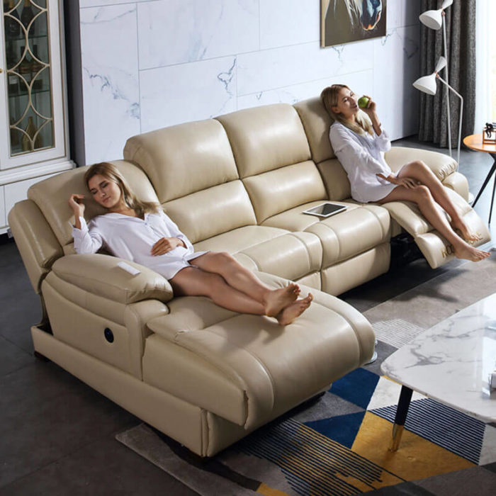 modern electric recliner lounge