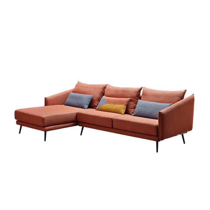 Minimalist modern l shaped sofa