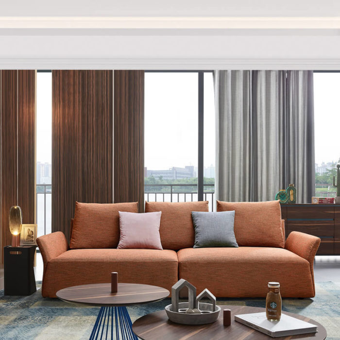 4 seater modern single sofa