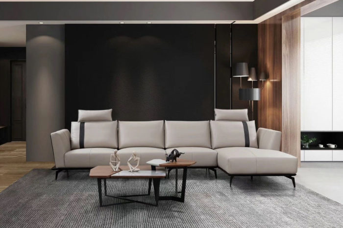 white leather modular leather sofa